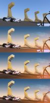 Race Track Day Progress by qwertyDesign