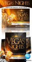 Vegas Night Club Flyer Templates by ImperialFlyers