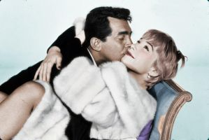 Dean and Shirley Colorized by ajax1946