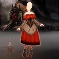 The Infernal Dress -ReadBelow- by CloudBrownie