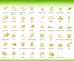 PAPAYA_Icons_Set by dstyler