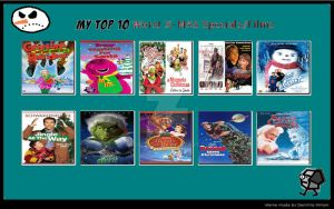 My Top 10 Worst Christmas Specials Films by ARTIST-SRF