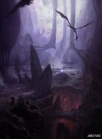 Personal Painting - Nesting Ground by JamesPaick