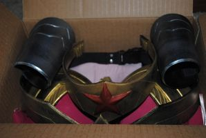 Wonder Woman Costume All Packed by ZigorC