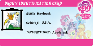 Brony Identification Card by Triard