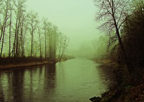 Foggy River by tundra-timmy