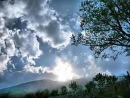 sky and clouds in a place alone -Antalya by okkoc