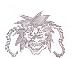 japanese demon face 1 by eatingconcrete