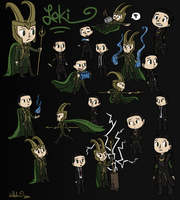 A Wild Loki Appears...or two.. by katribou