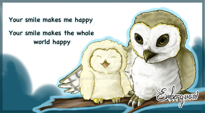 Owl Siblings by Emberguard