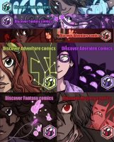 Rest of the Hiveworks ads by secondlina