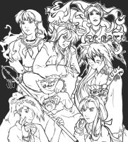 Gundam Wing meets Inuyasha by discarded