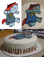 Fraggle Cake by Delta-Shout