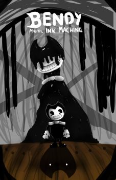 Bendy and the ink machine by GAMERSTYLE73