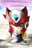Fan art: Megaman Zero by Coco-kun