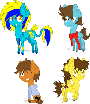 More Chibi Ponies by Spitfire-SOS