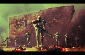 Sandtrooper Slaughter by LivioRamondelli