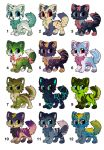 Cuties to adopt !   [OPEN] by eating-rainbow