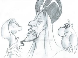 Jafar and Iago 2013a by BrianTyson