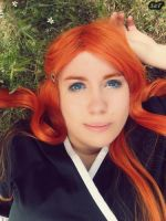 Cosplay Orihime Inoue (Shinigami version) 4 by SaFHina