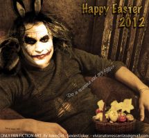 Happy Easter 2012 with the Heath`s Joker by SexiestJoker