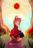 The Secret of NIMH by Mellodee