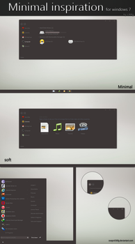 Minimal inspiration for windows 7 by swapnil36fg