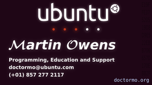 My new Ubuntu Member Cards by doctormo