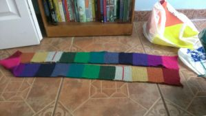 Hemospectrum Scarf (FINISHED) by ShadowHeartbeat