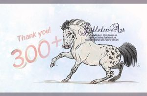 300 + Likes at Facebook by Jullelin
