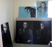 Joker - Proof of paintings by Martinkumnick