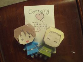 Germany+Italy Paper Dolls by KyoKyo866