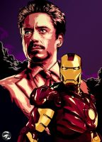 Tony Stark is IRONMAN by istian18kenji