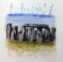 Le Stonehenge by doodlingsketch