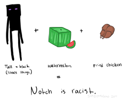 MC - Notch is racist by SuperKusoKao