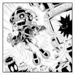 Zombified Space Lad Inked by Axel13-Gallery