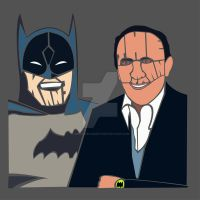 Batman and Me by CreativeCamArt
