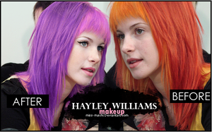 Hayley Williams Makeup 4 by Miss-Machi