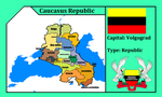 Caucasus republic (mapping) by DimLordofFox