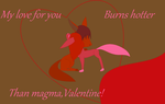 Flarefue Valentine by caitkitty