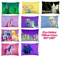 New my little pony pillows by bluepaws21