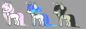 Stream Pony Adopts by By-The-Lantern-Light