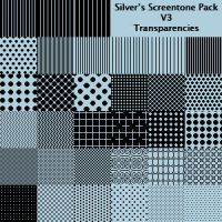 Silver's Screentone Pack V3 by silverwinglie