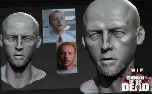 Shaun of the Dead: Moviefest comp: Wip 01 by DuncanFraser