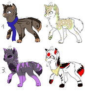 CLOSED - Canines Adoptable 315 by LeaAdoptables