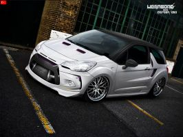 Citroen Ds3 by wegabond