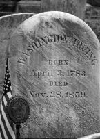 Grave of Washington Irving author by ArtieWallace