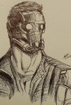 Guardian of The Galaxy: Starlord by spectradude