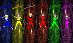 DigiFusion Time Force for Asrockrpg by rangeranime