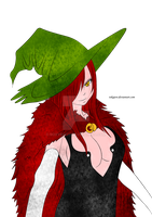 Witch Erza by RoxyRo123